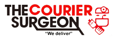 The Courier Surgeon Logo