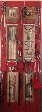 Jewelry doors in custom made colours to order